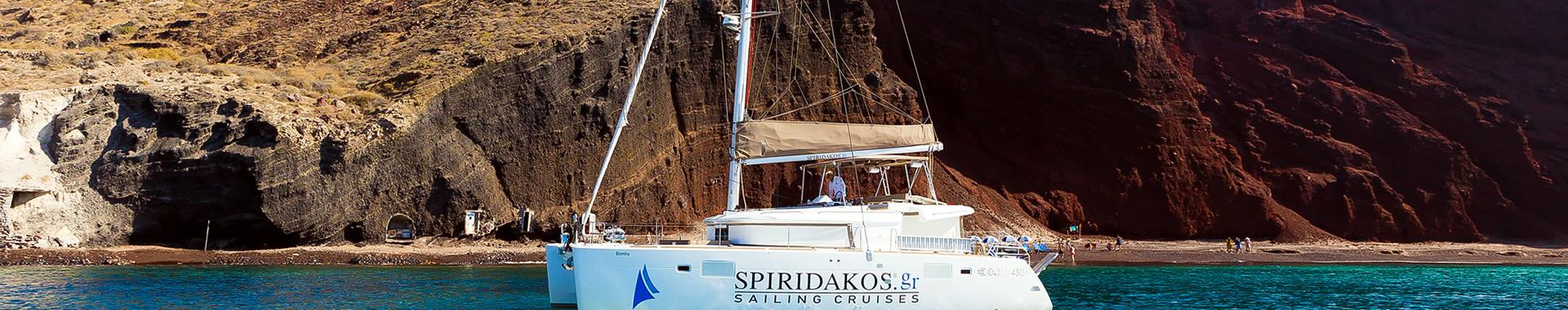 Private Boats for Parties and Events in Santorini