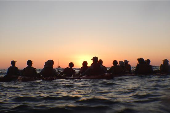 Photo of Santorini Sunset Sea Kayaking Tour