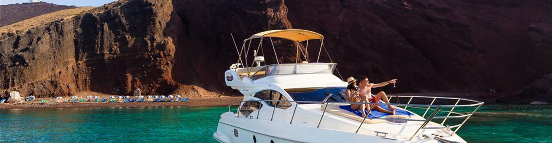 Photo of All-inclusive Private Motor Yacht Cruise with on-board Lunch or Dinner