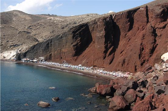 Photo of Private Half Day Bus Tour of Santorini's South Side