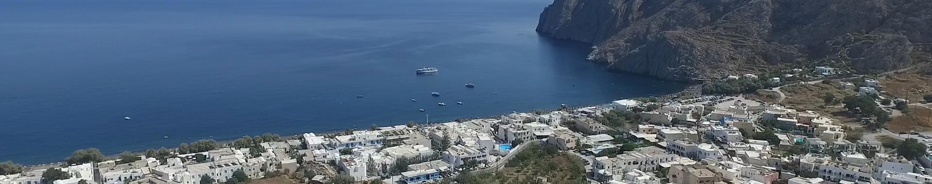 Kamari Kamari Hotels in Santorini island, Greece