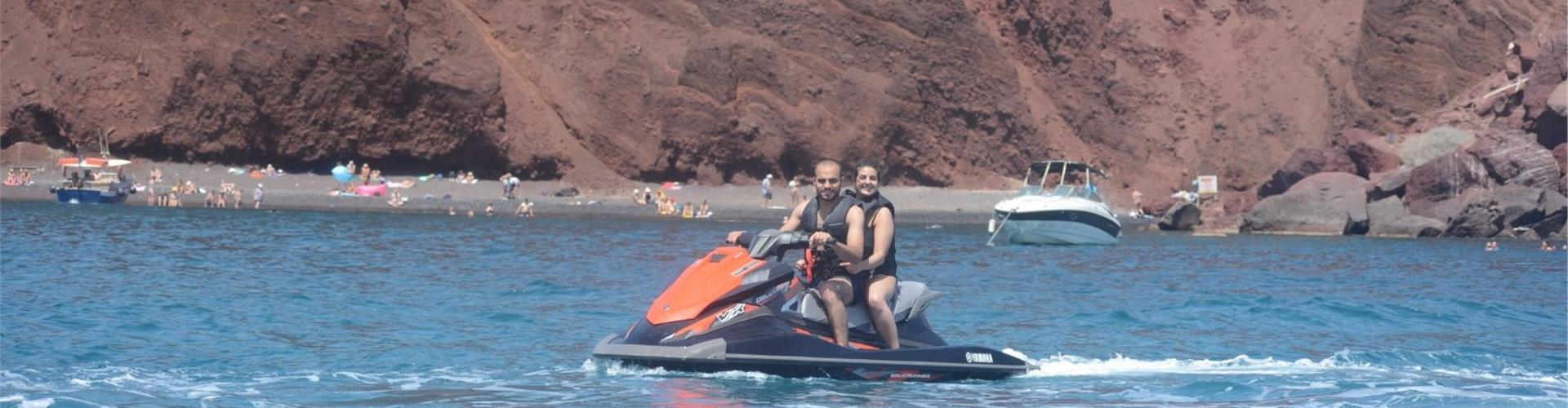 Photo of Jet Ski Safari to the South Coast of Santorini