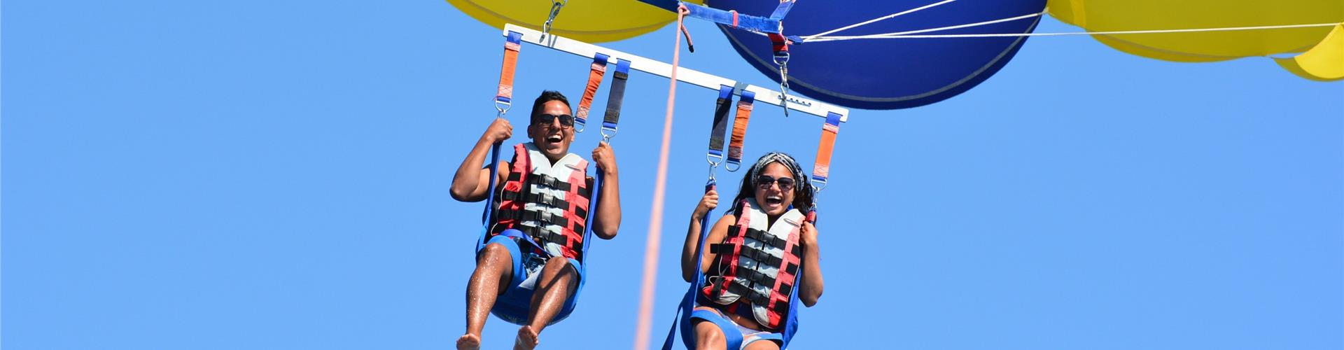 Photo of Parasailing Experience in Santorini