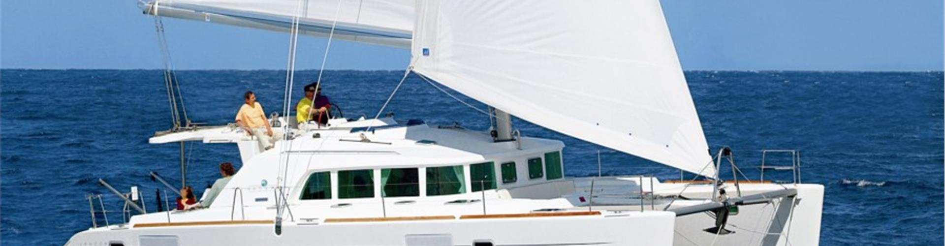 Photo of Private Luxury Catamaran Cruise from Oia with full BBQ meal & Drinks