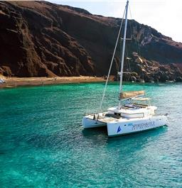 Photo of Private Luxury Catamaran Cruise with Cocktails, Lunch or Dinner