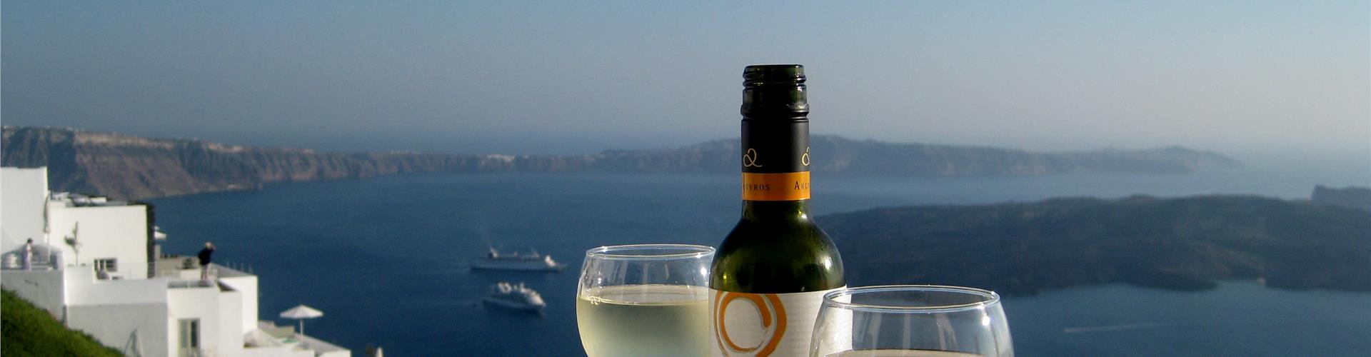 Santorini's white wines: unique in the world