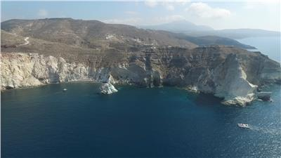 White Beach - Santorini
